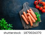 Sausages vegetable protein...
