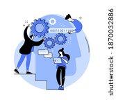 artificial intelligence...   Shutterstock .eps vector #1870032886