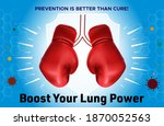 world asthma day. lungs concept....   Shutterstock .eps vector #1870052563