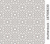 arabic seamless pattern   Shutterstock .eps vector #187008230