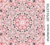 elegant seamless pattern of... | Shutterstock .eps vector #1870113733