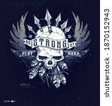 Skull T Shirt Graphic Design...