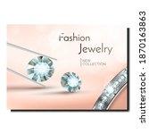 fashion jewelry creative...   Shutterstock .eps vector #1870163863