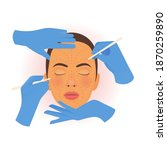 cosmetic surgery. plastic and...   Shutterstock .eps vector #1870259890