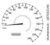 vector illustration of a... | Shutterstock .eps vector #187032140