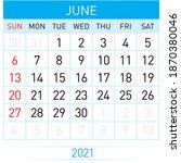 Raster Version. June Planner...