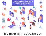 cyber security bundle of... | Shutterstock .eps vector #1870508809