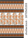 traditional paisley pattern... | Shutterstock . vector #1870565203