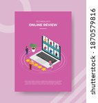 technology online review people ...   Shutterstock .eps vector #1870579816