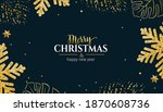 christmas horizontal bright... | Shutterstock .eps vector #1870608736