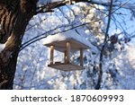 Large Horizontal Photo. Winter...