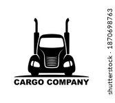 Truck Icon. Hood Tractor With...