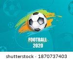vector illustration. football... | Shutterstock .eps vector #1870737403
