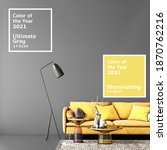 color of the year 2021 in... | Shutterstock . vector #1870762216