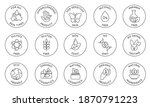 eco cosmetics icon. organic... | Shutterstock .eps vector #1870791223