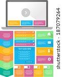 flat bright user interface...