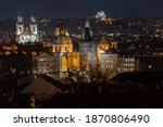 View Of The Old Prague Tower...