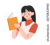 happy world book day....   Shutterstock .eps vector #1870833940