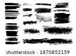 vector set of grunge design... | Shutterstock .eps vector #1870852159
