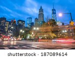New York City Traffic   Blurre...