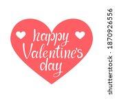 happy valentine's day vector...   Shutterstock .eps vector #1870926556