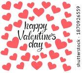 happy valentine's day vector...   Shutterstock .eps vector #1870926559