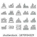 vector set of line icon for...   Shutterstock .eps vector #1870934329