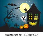 halloween | Shutterstock .eps vector #18709567