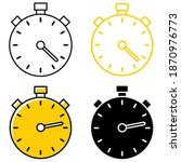 various types of timer....   Shutterstock .eps vector #1870976773