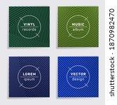 modern vinyl records music...   Shutterstock .eps vector #1870982470