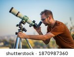 Amateur Astronomer Looking At...
