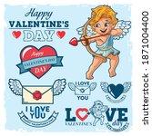 Set Of Valentine's Day Graphics ...