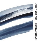watercolor navy blue grunge... | Shutterstock . vector #1871052580