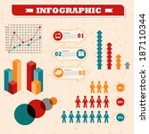elements of infographics for... | Shutterstock .eps vector #187110344