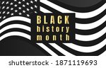 black history month background. ...   Shutterstock .eps vector #1871119693