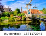 Edam Town In North Holland ...