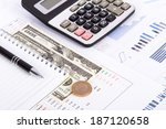 finance concept  financial and