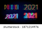 new year 2021 numbers for...