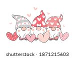 draw vector illustration sweet... | Shutterstock .eps vector #1871215603