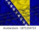 Bosnia And Herzegovina Flag...