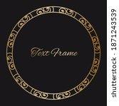 vintage luxury ornate asian...   Shutterstock .eps vector #1871243539