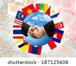 asian economic community  aec   | Shutterstock . vector #187125608