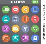 vector application... | Shutterstock .eps vector #187134416