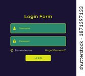 modern user login  great for...