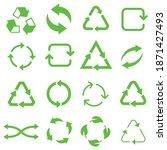biodegradable  compostable ...   Shutterstock .eps vector #1871427493