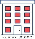 building construction. vector...   Shutterstock .eps vector #1871435023