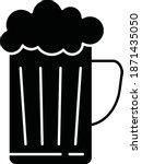 beer. vector icon    Shutterstock .eps vector #1871435050