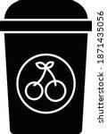 juice drink. vector icon    Shutterstock .eps vector #1871435056