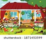vector cartoon illustration...   Shutterstock .eps vector #1871453599