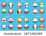 soccer or football ball nation... | Shutterstock .eps vector #1871482489